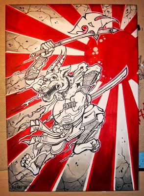Japanese Warrior Tattoos...
