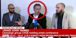 Martin Rees at Cage 'Jihadi John' press conference