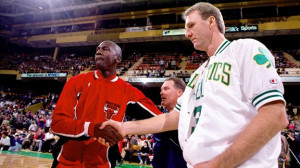 Nathaniel S. Butler/Getty Images Larry Bird and Michael Jordan are in ...