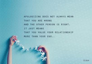 Best Quotes with Pictures About Apology, Apology Sayings Images - Page ...