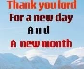 NEW DAY I NEW MONTH!!
