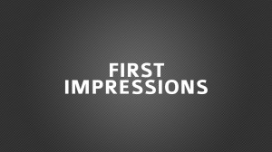 Ways To Make Sure Your Marketing Makes A Killer First Impression
