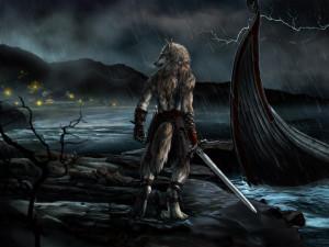 Alpha Coders Wallpaper Abyss Dark Werewolf 178661