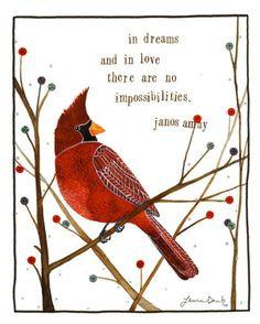 Quotes Birds Cardinals ~ Cardinals on Pinterest | 18 Pins