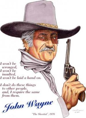 John Wayne Quotes From The Shootist