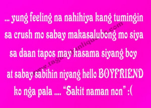 Tagalog CRUSH Quotes for YOU