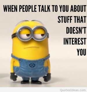 Cool minions cartoons sayings, quotes, wallpapers hd