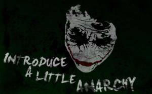 batman quotes the joker typography anarchy paint splatter Art HD ...