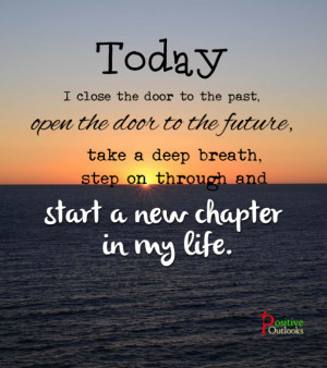 Starting A New Chapter In Your Life