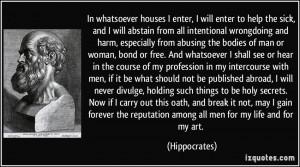 Hippocrates Quotes Healing