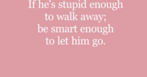 most spiritual quote but it's true. This means that he's not the one ...