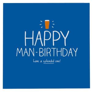 Happy Jackson Happy Man-Birthday Card
