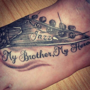 brother | memorial tattoos