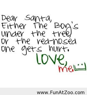 Dear santa letter funny 2013 Funny picture
