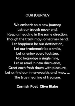Our Journey -BBCP -Wedding Poem-Wedding Poetry by CliveBlake