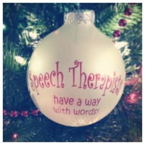 Cute idea for a speech therapist gift!Speech Therapist Gift