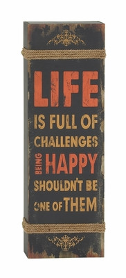 ... Metal Wall Decor Classic Wall Decor Quote Wood Rope Wall Decor by UMA