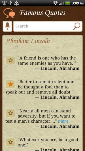 Famous Quotes FREE - screenshot