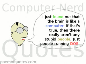 Funny Quotes for Computer Nerds