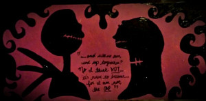 Jack and Sally Nightmare Before Christmas by Jenni Robinson quote ...