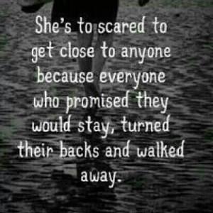 didn't walk away and I still am here