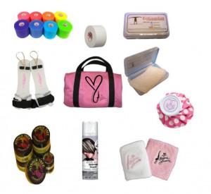 Gym Bag Essentials! 100 Gymnastics Gift Ideas #gymnast #gymnastics # ...