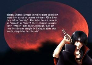quote: Itachi Uchiha: