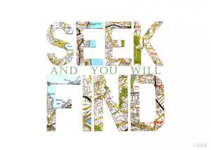 Seek and find #bible #God