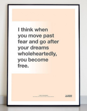 Typographic quote poster Yvon Chouinard print door TheHumanHappiness ...