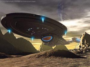 Intrepid class starship