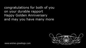 CARD GREETINGS 50TH WEDDING ANNIVERSARY