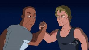 Brian O'Connor & Dominic Toretto