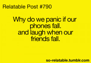 quote quotes iphone true true story trip phone fall tripping relate so ...
