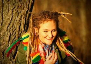 dread, dreadlock, dreadlocks, dreads, feather, girl, indians ...