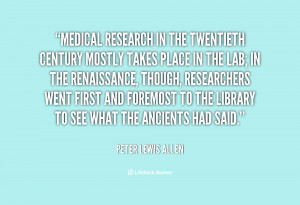 Medical Research Quotes