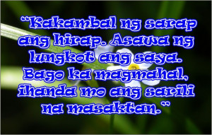 Tagalog Quotes About Life