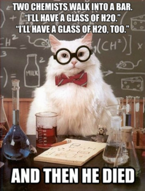 Chemistry Cat – No other feline has done so much to inspire people ...