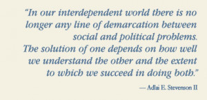 adlai quotes think quotes care quotes connect quotes humorous quotes