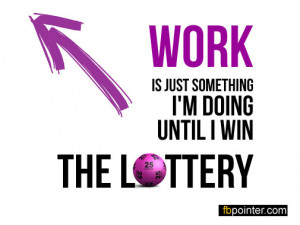 Winning Lottery Quotes Funny