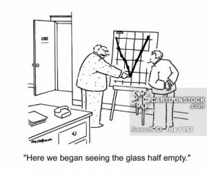 glass is half full cartoons, glass is half full cartoon, funny, glass ...