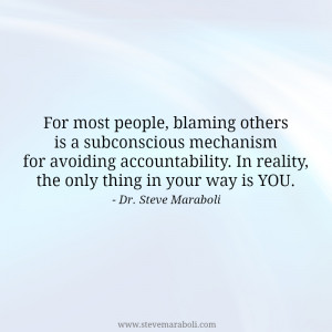 Blaming Others Quotes on Pinterest | Being Done Quotes, Blame ...
