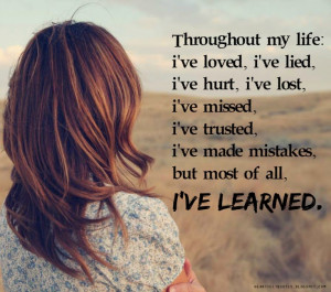 ve Learned Quotes