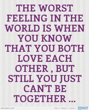 The Worst Feeling World