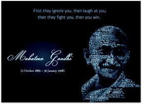 Mahatma Gandhi Quotes Jayanti Non Violence Day By Adarsh Vijay