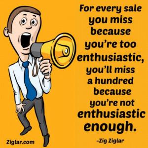 Zig Ziglar Quotes On Closing the Sale