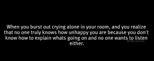 ... quote depression sad lonely alone typo crying self harm idk cutting um
