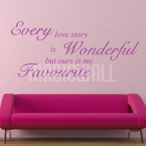 Home » Every Wonderful Love - Wall Quotes - Wall Decals Stickers