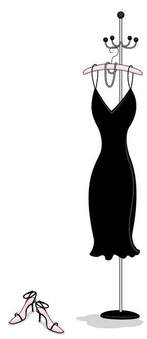Men and the Little Black Dress (LBD)