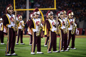Via USC Trojan Marching Band