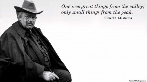 Gilbert K. Chesterton Quotes – Inspirational And Motivational Quotes ...